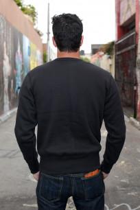 Strike Gold Heavy Loopwheeled Sweatshirt - Black - Image 4