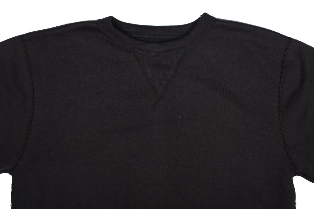 Strike Gold Heavy Loopwheeled Sweatshirt - Black - Image 3