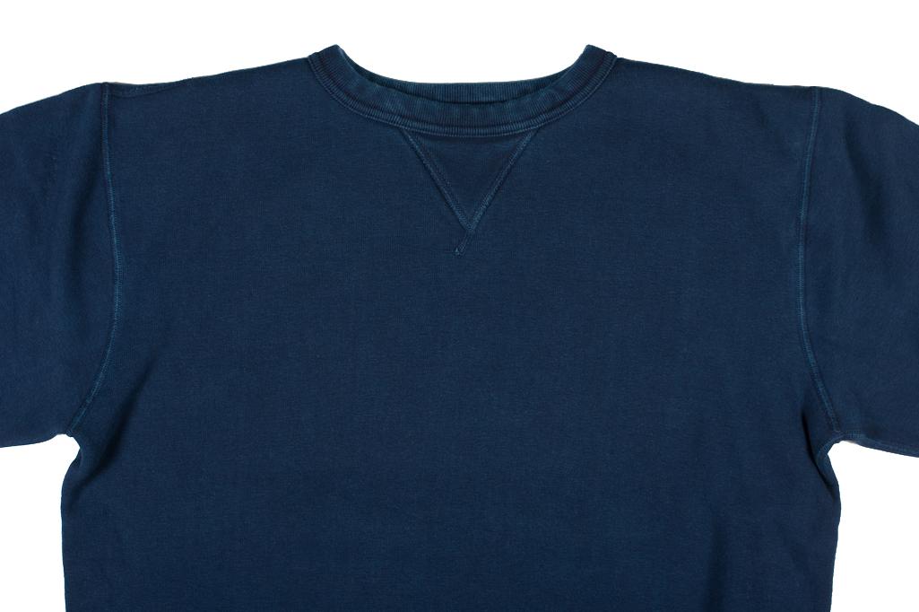 Strike Gold Heavy Loopwheeled Sweatshirt - Indigo Dyed - Image 6
