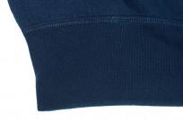 Strike Gold Heavy Loopwheeled Sweatshirt - Indigo Dyed - Image 4