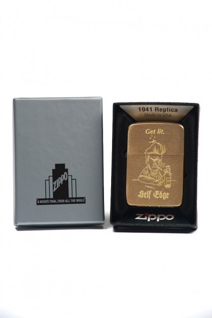 Self Edge Zippo Vintage 1941 Repro Lighter - 'Get Lit',